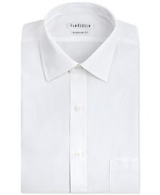 5c7ac0927d89 Van Heusen Men's Classic-Fit Herringbone Dress Shirt & Reviews ...