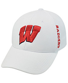 Top of the World Wisconsin Badgers Stretch-Fit Cap