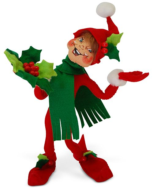 "Annalee 12"" Holly Berry Elf"
