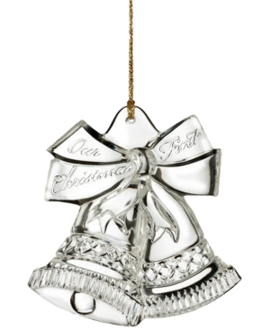 Closeout! Marquis by Waterford 2015 Our First Christmas Ornament