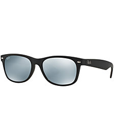 Ray-Ban Sunglasses, RB2132 55 NEW WAYFARER MIRRORED