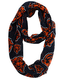Forever Collectibles Chicago Bears All Over Logo Infinity Scarf