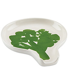 kate spade new york all in good taste Stoneware Broccoli Spoon Rest