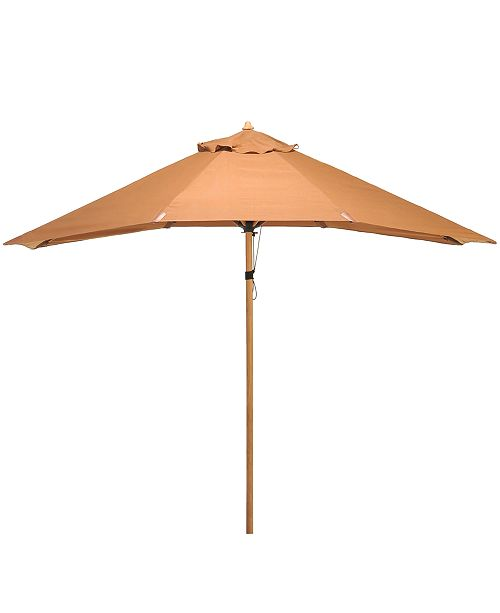 Furniture Bristol Outdoor 11' Rectangular Umbrella, Created for Macy's