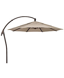 Outdoor Bronze 11' Cantilever Umbrella, Quick Ship