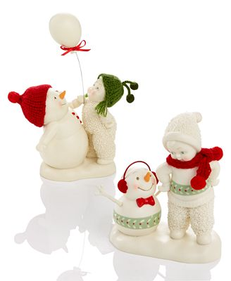 Department 56 Snowbabies Christmas Memories Collection