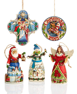 Jim Shore Christmas Ornaments Collection - Holiday Lane ...
