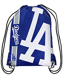 Forever Collectibles Los Angeles Dodgers Big Logo Drawstring Bag