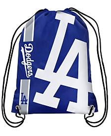 Forever Collectibles Los Angeles Dodgers Big Logo Drawstring Bag
