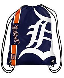 Detroit Tigers Big Logo Drawstring Bag