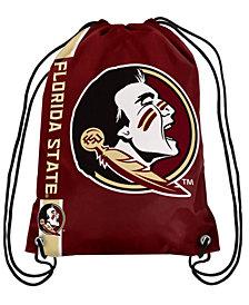 Forever Collectibles Florida State Seminoles Big Logo Drawstring Bag