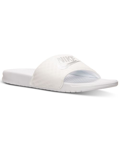 2903ba1b0f97 ... Nike Women s Benassi Just Do It Swoosh Slide Sandals from Finish ...