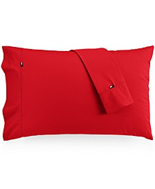 Solid Core Pair of Standard Pillowcases