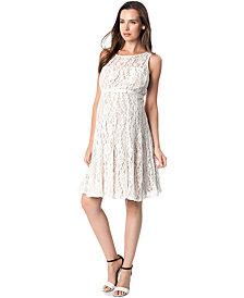 Taylor Maternity Lace A-Line Dress