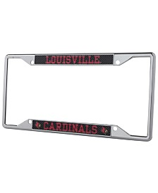 Stockdale Louisville Cardinals Carbon License Plate Frame