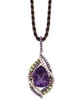 4c944b1a7 Le Vian Crazy Collection® Multi-Stone Pendant Necklace (14 ct. t.w.)