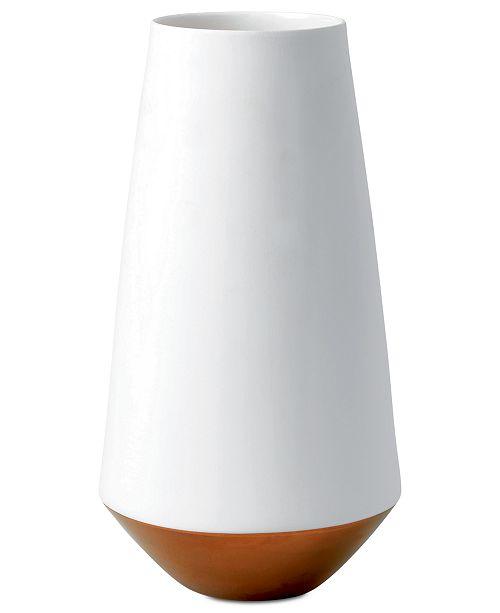 Wedgwood Arris Collection Fine Bone China White Vase Bowls Vases