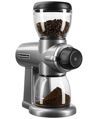 Kitchenaid Kcg0702 Burr Coffee Grinder Coffee Tea Espresso Kitchen Macys