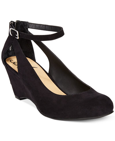 American Rag Miley Chop Out Wedges, Created for Macy's - American Rag Miley Chop Out Wedges, Created For Macy's - Pumps
