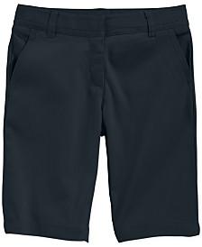 Nautica School Uniform Bermuda Shorts, Big Girls Plus