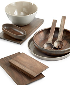 Vera Wang Wedgwood Serveware Wood Gradients Collection