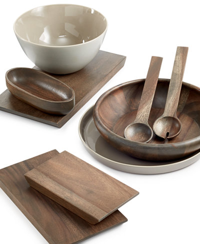 Vera Wang Wedgwood Serveware Wood Gradients Collection