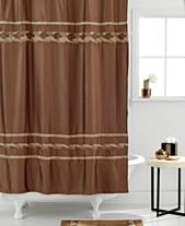Croscill Bath Mosaic Shower Curtain