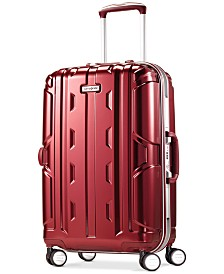"CLOSEOUT! Samsonite Cruisair DLX 21"" Carry-On Hardside Spinner Suitcase"