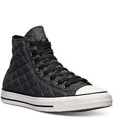Converse Men's Chuck Taylor All Star Hi Quilted Casual Sneakers from Finish Line