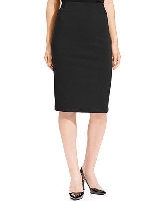 grace elements below knee solid pencil skirt skirts
