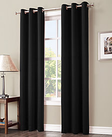 "Sun Zero Preston 40"" x 84"" Blackout Grommet Curtain Panel"