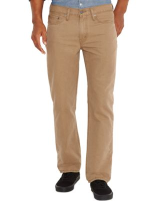 Straight Fit Khaki Pants sVnt8tbO