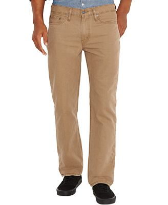 Levi's® 514™ Straight Fit Padox Twill Pants - Jeans - Men - Macy's