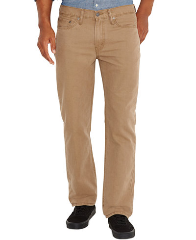 Levi's® 514™ Straight Fit Padox Twill Pants - Clearance - Men - Macy's