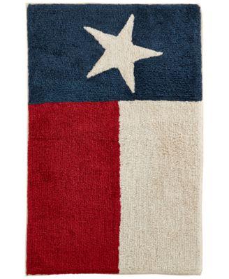 "Avanti Texas Star 20"" x 30"" Cotton Bath Rug"