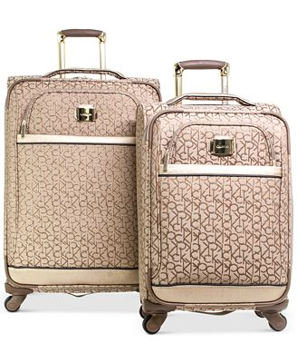 Calvin Klein Luggage Sets !