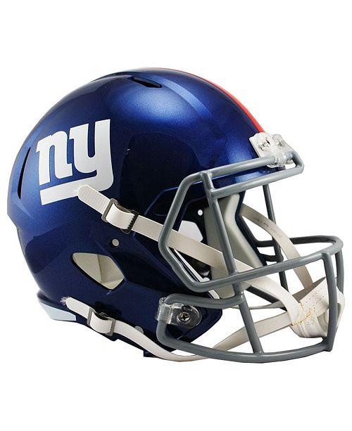 47121fcce99 Riddell New York Giants Speed Replica Helmet   Reviews - Sports Fan ...