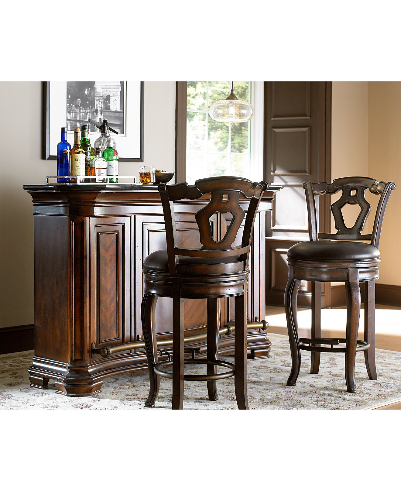 Toscano Home Bar Collection. Home Bar Furniture   Macy s