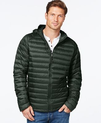 32 Degrees Packable Hooded Down Jacket - Coats & Jackets - Men ...