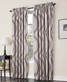 Sun Zero Coda Room Darkening Woven Curtain Panel Collection