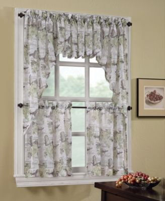lichtenberg wine country tier u0026 valance collection