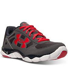 Under Armour Men's Engage BL Running Sneakers from Finish Line