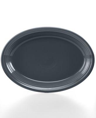 "Slate 13"" Oval Platter"