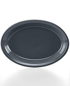 """Fiesta Slate 13"""" Oval Platter"""