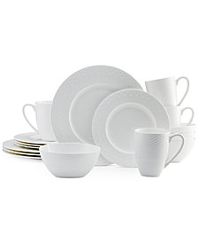Mikasa Dinnerware  Bone China Ortley 16 Piece Set Service for 4