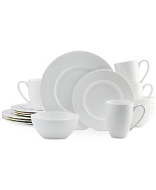 Mikasa Dinnerware Bone China 16 Piece Dinnerware Set Collection