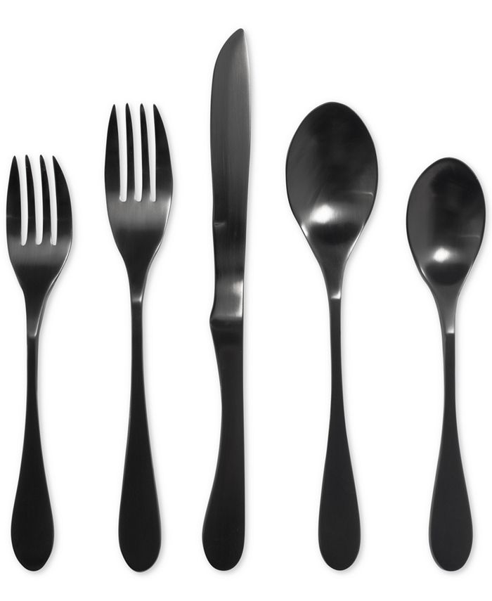 Knork - 18/0 Stainless Steel Titanium-Coated 5-Pc. Place Setting