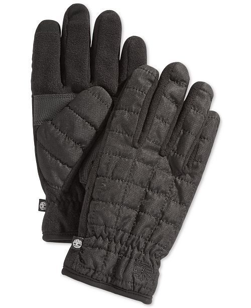 72485d527e1b Timberland Quilted Touchscreen Gloves - Hats, Gloves   Scarves - Men ...