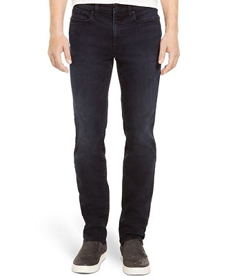 Kenneth Cole Reaction Straight-Leg Dark-Wash Stretch-Denim Jeans ...