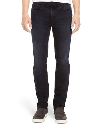 Kenneth Cole Reaction Straight-Leg Dark-Wash Stretch-Denim Jeans ...